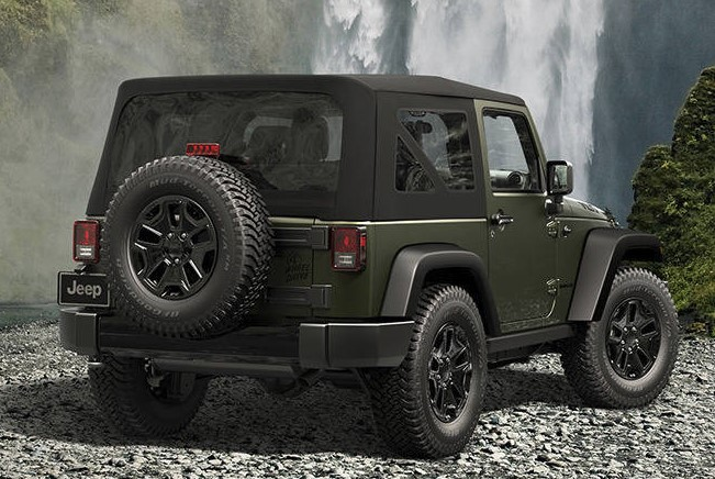 Jeep Wrangler Rear